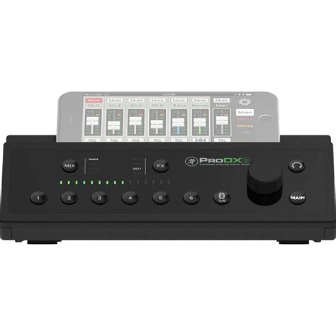 Mixer Wireless mackie prodx8 8 channel wireless mixer at gear4music