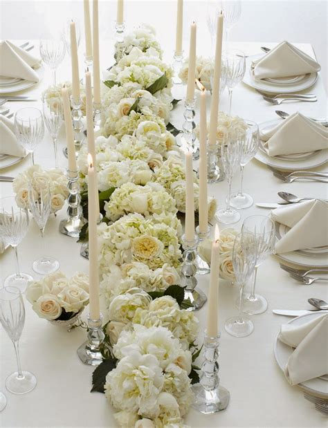 and white table decorations for a wedding wedding table decorations flowers http refreshrose