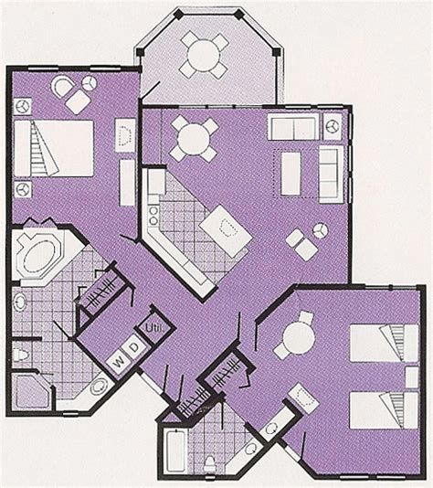 old key west 1 bedroom villa floor plan disney s old key west resort dvc rentals