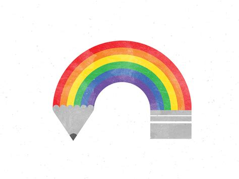 Rainbow Essay In writing rainbow by dan hess dribbble