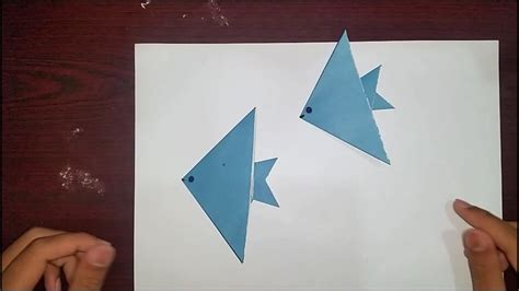 Origami Home - free coloring pages learn origami make a paper fish