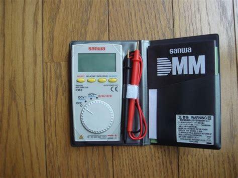Multitester Digital Sanwa Pm3 sanwa digital multimeter pm3 ノア トヨタ パーツレビュー ノア ノア みんカラ 車