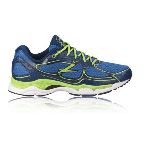 support running shoes mens zoot coronado mens blue support road running sports shoes