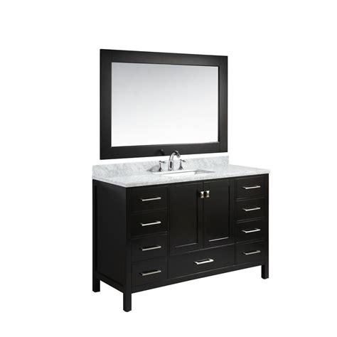 home depot design element vanity design element london 54 in w x 22 in d vanity in