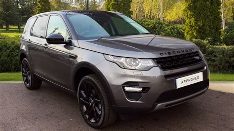 land rover discovery black 2016 land rover discovery sport 2 0 td4 180 hse black 5dr