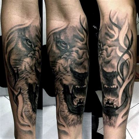 lion forearm tattoos 40 forearm tattoos for manly ink ideas