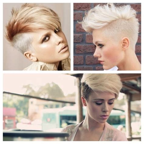 pixie one side shaved shaved sides pixie edgy hair curly styles pinterest
