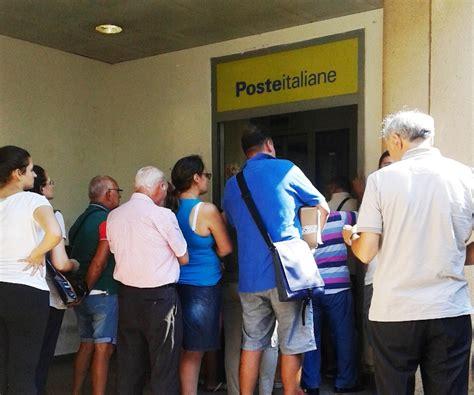 reclami ufficio postale week end di ferragosto solite problematiche all ufficio