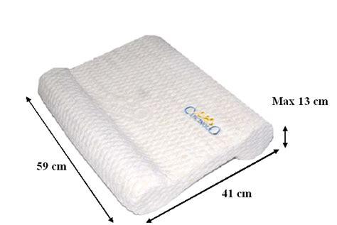 cuscini per artrosi cervicale cuscino cervicale