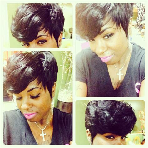 good cheap hair weave to use for bob hairstyles full short weave by tanya shannon sewin pinterest