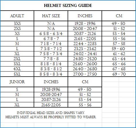 youth motocross helmet size chart vega helmet price list www pixshark com images