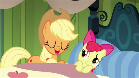 ordinary magic vignettes from the big apple books image applejack comforts apple bloom through a lullaby
