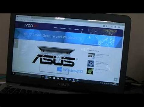 asus windows 10 tutorial full download two finger scrolling for asus laptops