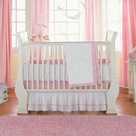 Eyelet Crib Bedding White Eyelet Crib Dust Ruffle Baby Crib Design Inspiration