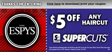 haircut coupons for walmart 5 off a supercuts haircut