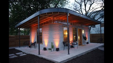 build house 10000 3d printed house tooks 24 hours to build for 10 000