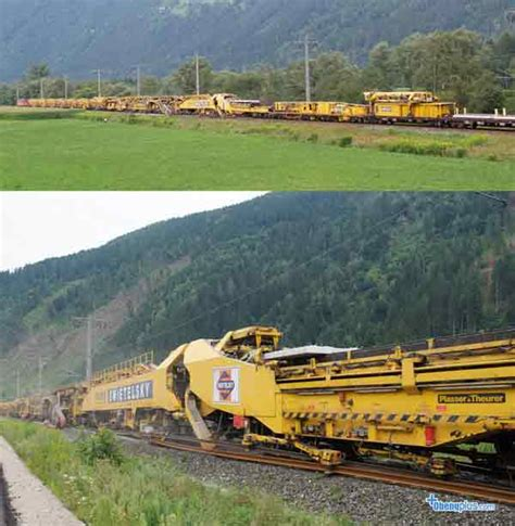 Mesin Bor Rel mesin ru 800 s penganti rel dan bantalan kereta api