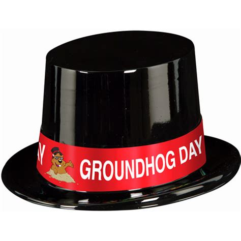 groundhog day hat groundhog day top hat ziggos