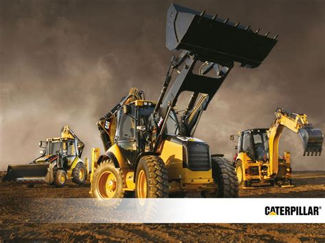 cat excavator wallpaper wallpapers heavy equipment caterpillar 1024x768 download
