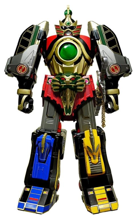 Power Rangers Mega Figure Orginal Bandai Legacy Thunder Megazord Mighty Morphin Power Rangers