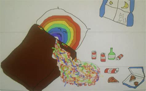 Beard Celebrates 30th Puking Ensues by Rainbowpuke A Happy Place For Sad Rainbows