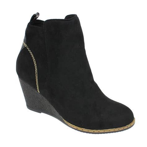 wedge boot lunar glc601 pesaro wedge boot lunar from grs footwear uk