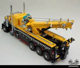 Lego Truck Lego Peterbilt Tow Truck Probably Could Really Tow Lego