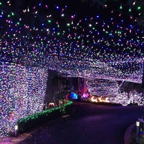 mixing white and colored lights on tree 24v 250 led 50m 164 ft multi color string fairy lights