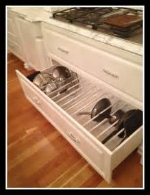 delightful Kitchen Cabinet Door Storage Racks #9: Kitchen-drawer-pan-and-lids-organizing.jpg