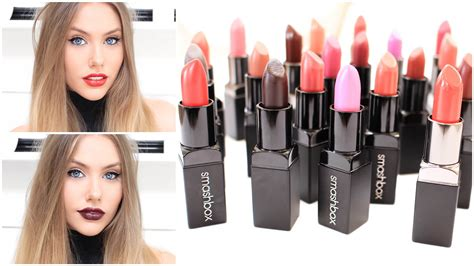Be The Next Smashbox by Smashbox Be Legendary Lipstick Swatches Try On