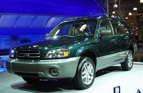 2005 subaru forester ll bean edition review 2005 subaru forester pictures photos gallery motorauthority