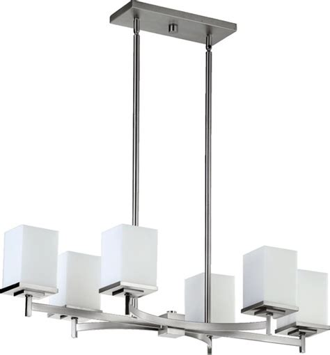 Modern Island Lighting Fixtures How Can I Be Sure The Fixture Will Install On A Sloped Ceiling