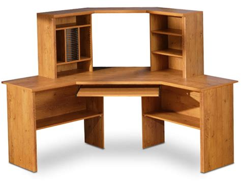 Computer Desk With Hutch Plans Computer Corner Desk Plans Home Design Ideas