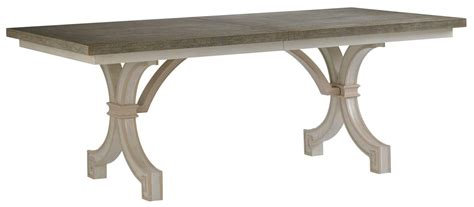Stanley Cribs by Stanley Furniture Preserve St Helena Trestle Table