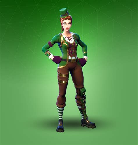 sgt green clover fortnite outfit skin    info