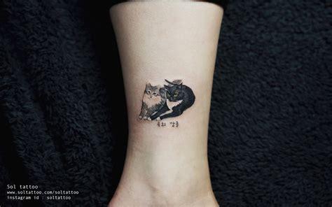 17 best images about cat tattoo on pinterest cats cat 14 adorables tatouages inspir 233 s par les chats soci 233 t 233