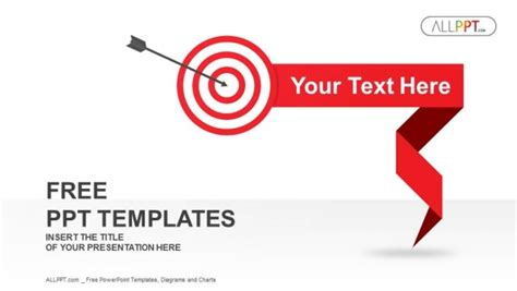 shooting target powerpoint templates