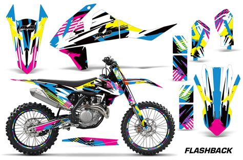 Ktm 250 Graphics 2016 Sx F Xc F 250 350 450 Ktm Motocross Graphic Decal