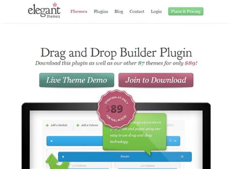 elegant themes builder plugin download the 7 best drag drop wordpress page builder plugins compared