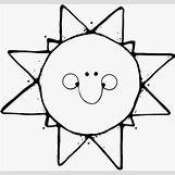 Happy Face Sun Black And White | 512 x 485 jpeg 30kB