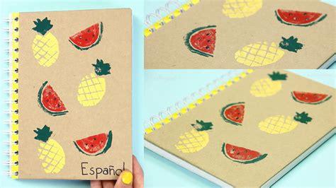 decorar cuadernos para 5 ideas para decorar tus cuadernos regreso a clases