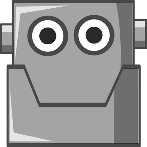 printable robot eyes clipart cute robot head same eyes