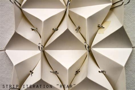 Paper Folding Patterns - paper parametric fabrication