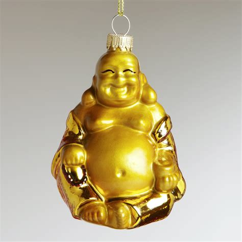 glass buddha ornament world market