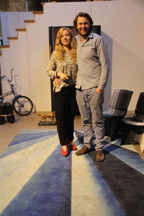 An With Dirk Vander Kooij Dirk Der Kooij Hier Met Marleen Kurvers Tijdens De Opening De Workshop Studio Showroom