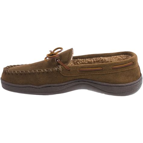 clark slippers clarks suede moccasin slippers for save 40