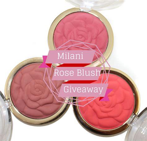 Blush Giveaway - milani rose powder blush collection giveaway