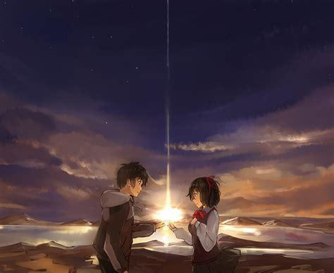 kimi  na wa   zerochan anime image board