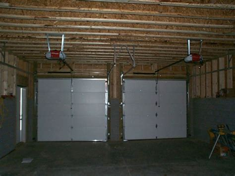 Garage Door Install Installing A Garage Door Home Interior Design