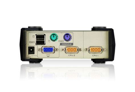 Switch Aten aten cs82u 2 port ps 2 usb kvm switch aten cs82u desktop
